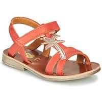 Topánky Dievčatá Sandále GBB SAPELA Koralová