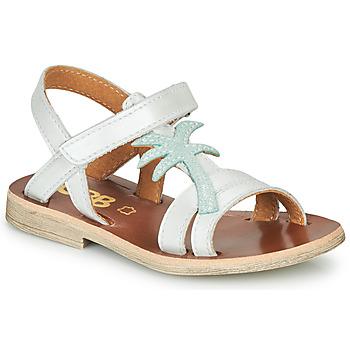 Topánky Dievčatá Sandále GBB SAPELA Biela