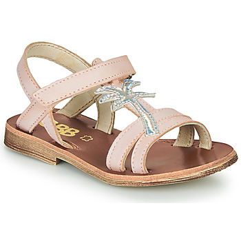 Topánky Dievčatá Sandále GBB SAPELA Ružová