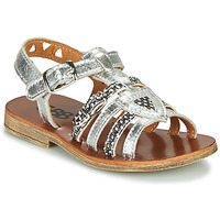 Topánky Dievčatá Sandále GBB FANNI Strieborná