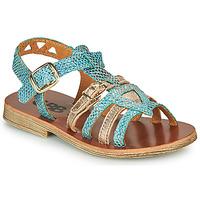 Topánky Dievčatá Sandále GBB FANNI Modrá