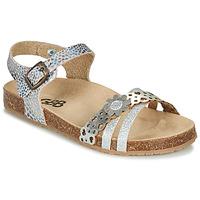 Topánky Dievčatá Sandále GBB PANORA Strieborná