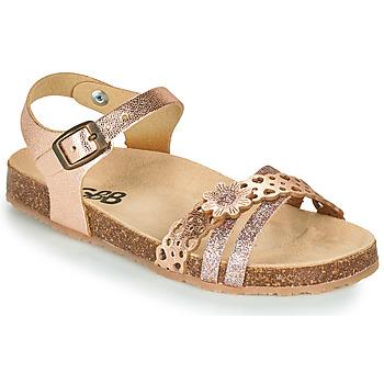 Topánky Dievčatá Sandále GBB PANORA Zlatá