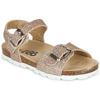 Topánky Dievčatá Sandále GBB PIPPA Ružová / Zlatá