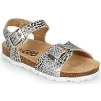 Topánky Dievčatá Sandále GBB PIPPA Strieborná