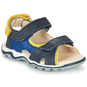 Topánky Chlapci Sandále GBB DIMOU Modrá