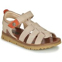 Topánky Chlapci Sandále GBB PATHE Béžová