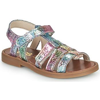 Topánky Dievčatá Sandále GBB KATAGAMI Ružová