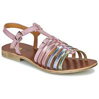 Topánky Dievčatá Sandále GBB BANGKOK Ružová