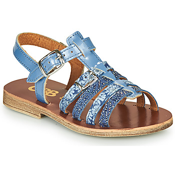 Topánky Dievčatá Sandále GBB BANGKOK Modrá
