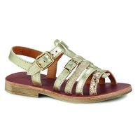 Topánky Dievčatá Sandále GBB BANGKOK Zlatá