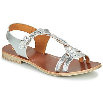 Topánky Dievčatá Sandále GBB EUGENA Strieborná