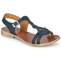 Topánky Dievčatá Sandále GBB EUGENA Modrá