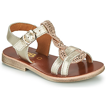 Topánky Dievčatá Sandále GBB EUGENA Zlatá