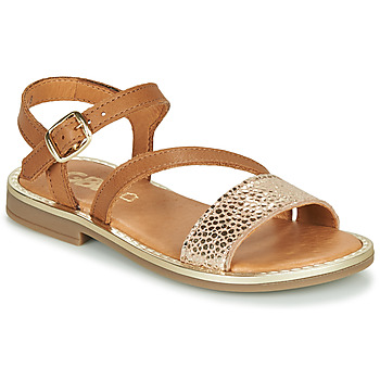 Topánky Dievčatá Sandále GBB FANA Hnedá