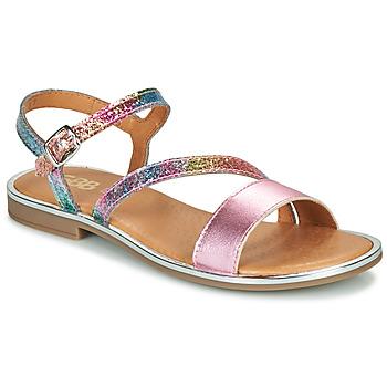 Topánky Dievčatá Sandále GBB FANA Ružová / Viacfarebná