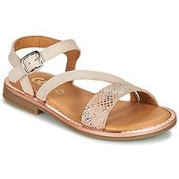 Topánky Dievčatá Sandále GBB FANA Béžová / Ružová