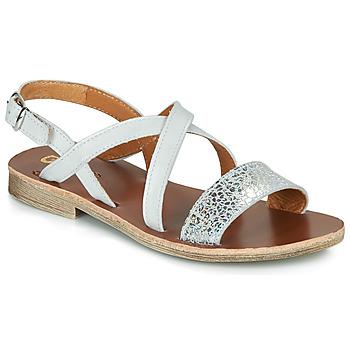 Topánky Dievčatá Sandále GBB FAVOLA Biela