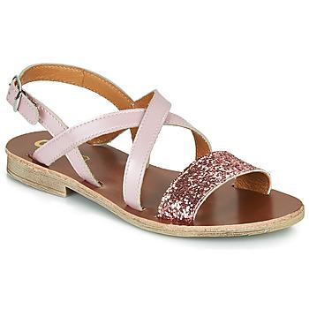 Topánky Dievčatá Sandále GBB FAVOLA Ružová