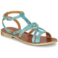 Topánky Dievčatá Sandále GBB JULIA Modrá