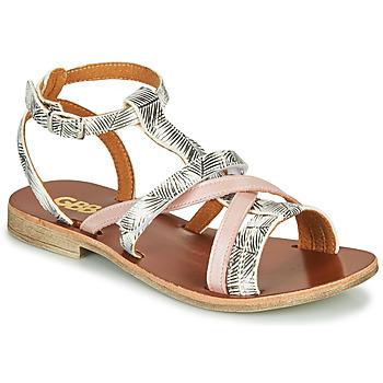 Topánky Dievčatá Sandále GBB JULIA Ružová