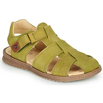 Topánky Chlapci Sandále GBB JAMIK Zelená