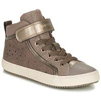 Topánky Dievčatá Členkové tenisky Geox KALISPERE Béžová