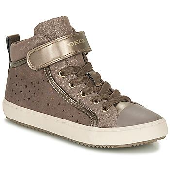 Topánky Dievčatá Nízke tenisky Geox KALISPERE Béžová