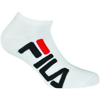 Textilné doplnky Ponožky Fila Calza unique invisible Biela
