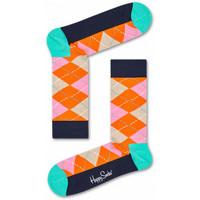 Textilné doplnky Muži Ponožky Happy Socks Argyle sock Viacfarebná