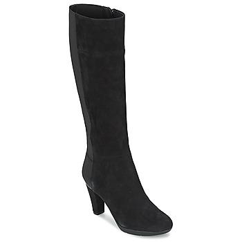Topánky Ženy Čižmy do mesta Geox INSPIRAT ST C Čierna