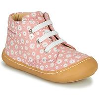 Topánky Dievčatá Členkové tenisky GBB ATARINA Ružová