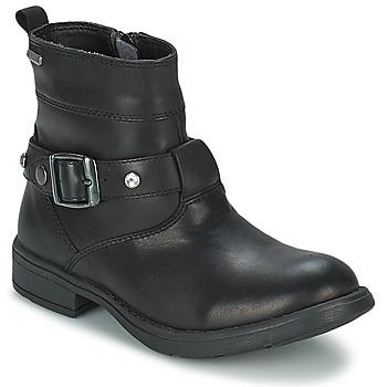 Topánky Dievčatá Čižmy do mesta Geox SOFIA B čierna