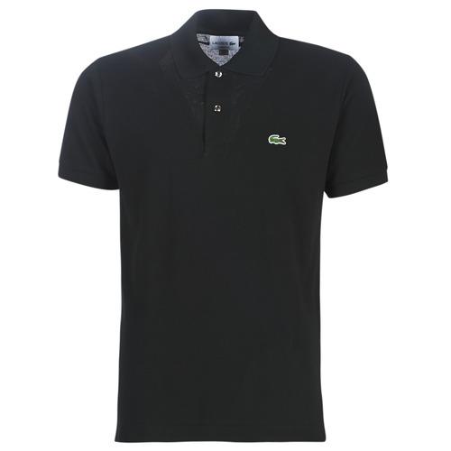 Oblečenie Muži Polokošele s krátkym rukávom Lacoste POLO L12 12 REGULAR Čierna