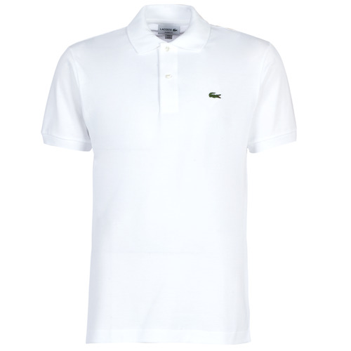 Oblečenie Muži Polokošele s krátkym rukávom Lacoste POLO L12 12 REGULAR Biela