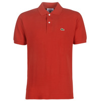 Oblečenie Muži Polokošele s krátkym rukávom Lacoste POLO L12 12 REGULAR Červená