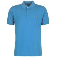 Oblečenie Muži Polokošele s krátkym rukávom Lacoste POLO L12 12 REGULAR Modrá