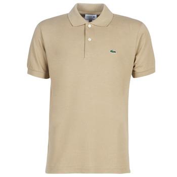 Oblečenie Muži Polokošele s krátkym rukávom Lacoste POLO L12 12 REGULAR Béžová