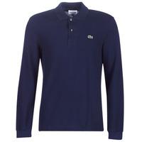 Oblečenie Muži Polokošele s dlhým rukávom Lacoste L1312 Námornícka modrá