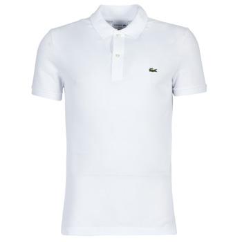 Oblečenie Muži Polokošele s krátkym rukávom Lacoste PH4012 SLIM Biela