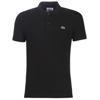 Oblečenie Muži Polokošele s krátkym rukávom Lacoste PH4012 SLIM Čierna