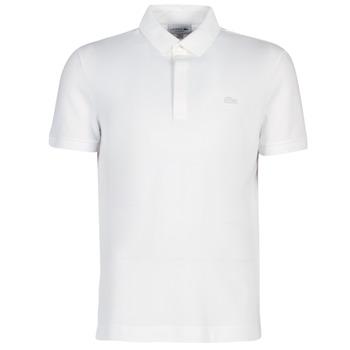 Oblečenie Muži Polokošele s krátkym rukávom Lacoste PARIS POLO REGULAR Biela