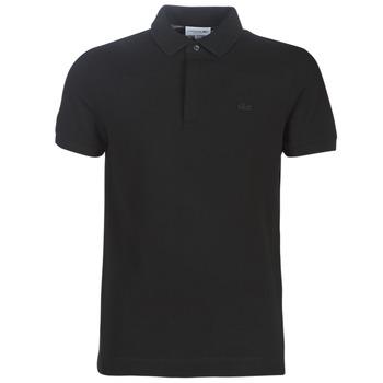 Oblečenie Muži Polokošele s krátkym rukávom Lacoste PARIS POLO REGULAR Čierna