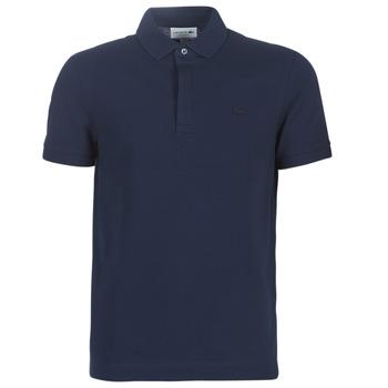 Oblečenie Muži Polokošele s krátkym rukávom Lacoste PARIS POLO REGULAR Námornícka modrá