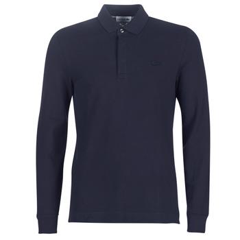 Oblečenie Muži Polokošele s dlhým rukávom Lacoste PH2481 REGULAR Námornícka modrá