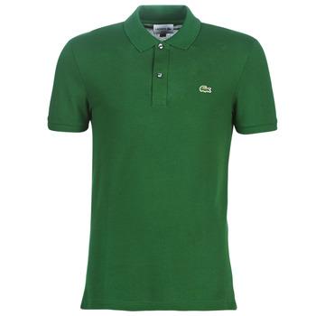 Oblečenie Muži Polokošele s krátkym rukávom Lacoste PH4012 SLIM Zelená