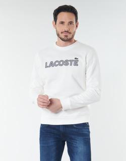 Oblečenie Muži Mikiny Lacoste SH8632 Biela