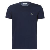 Oblečenie Muži Tričká s krátkym rukávom Lacoste TH6709 Námornícka modrá