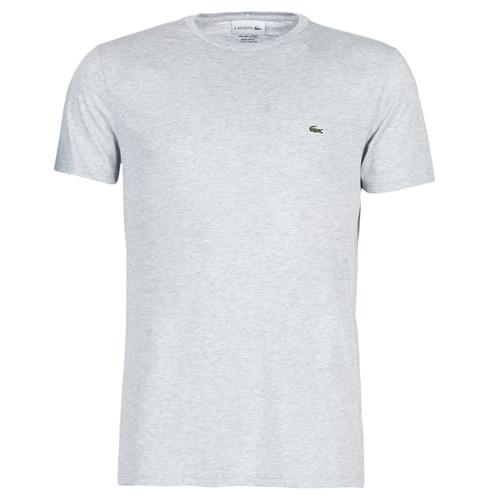 Oblečenie Muži Tričká s krátkym rukávom Lacoste TH6709 Šedá