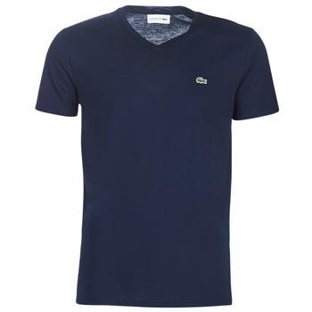 Oblečenie Muži Tričká s krátkym rukávom Lacoste TH6710 Námornícka modrá